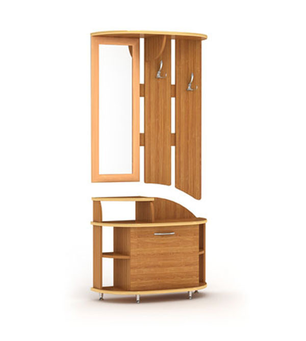 маленькие прихожие фото мебель