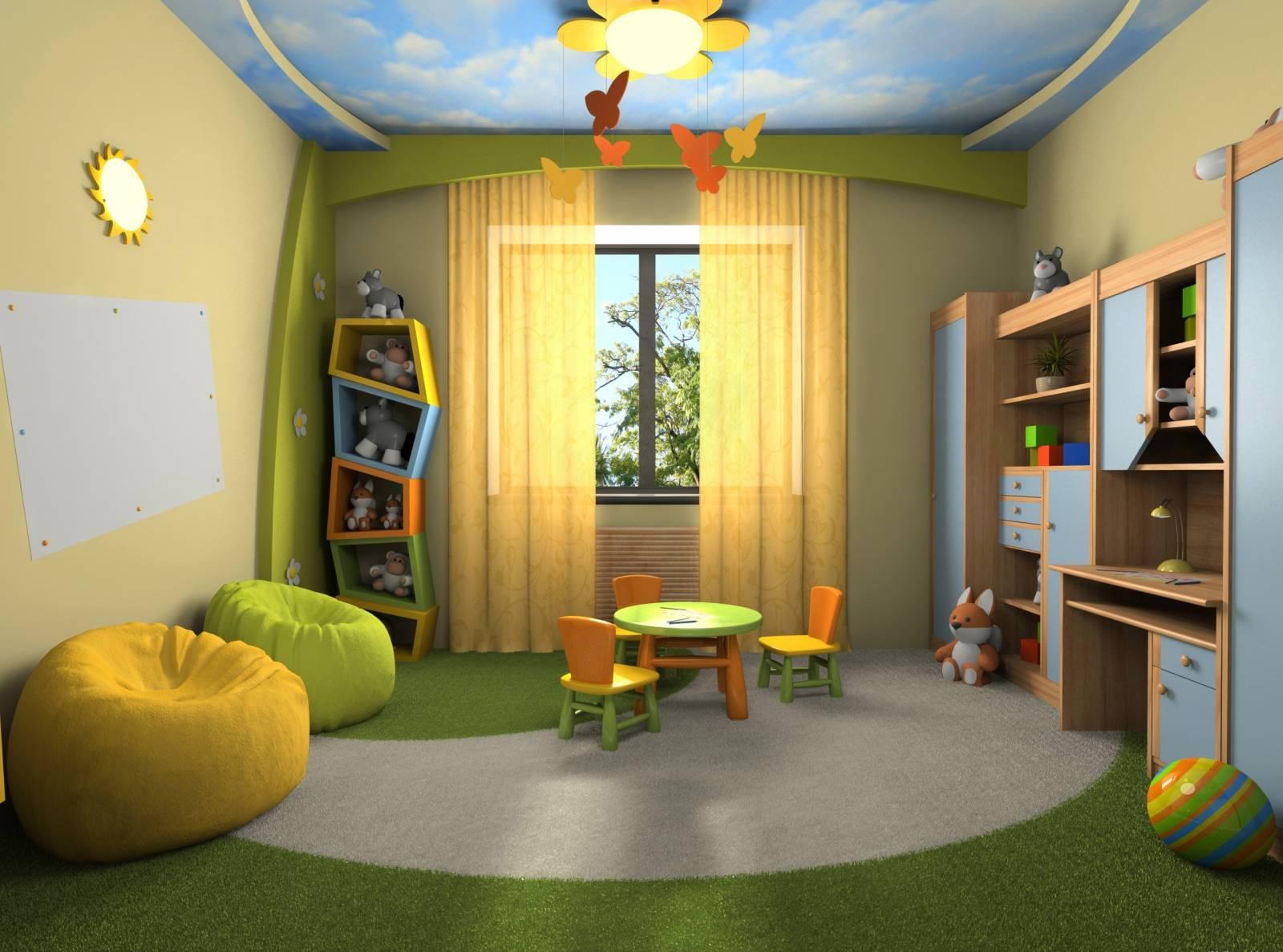 Детская комната ремонт своими руками фото